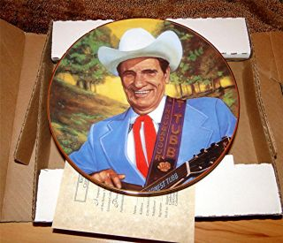 Ernest Tubb Country Music Singer Pillars of Country Music Songs Plate
