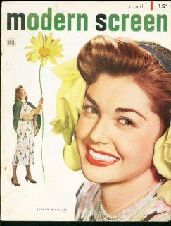 MODERN SCREEN 1948 APR ESTHER WILLIAMS ROY ROGERS FILMS VG