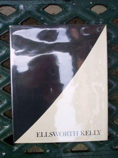Signed Ellsworth Kelly 1973 MOMA Art Book