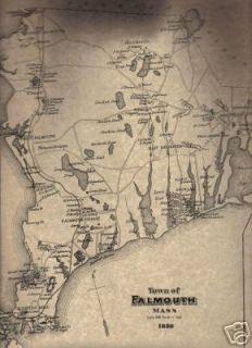Bike Zone Falmouth Ma Falmouth MA Map with
