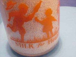 One Quart Licking Valley Dairy Falmouth KY Milk Bottle