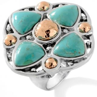 132 718 studio barse studio barse turquoise sterling silver and copper