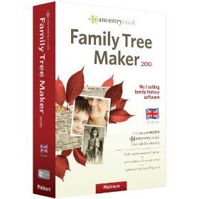Family Tree Maker 2010 Platinum Edition PC New SEALED