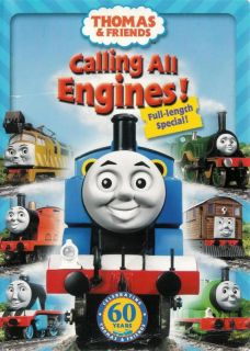 Thomas Friends Calling All Engines DVD 045986232076