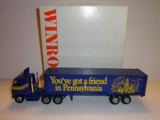 WINROSS YOUVE GOT A FRIEND IN PENNSYLVANIA DIECAST TRACTOR TRAILER