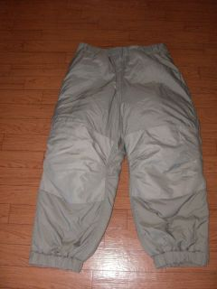 U S MILITARY GEN III EXTREME COLD WEATHER PANTS