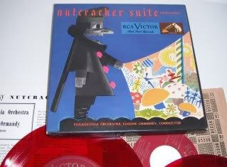 RCA Victor Red Seal Records Nutcracker Suite Tchaikovsky 3 Record Box
