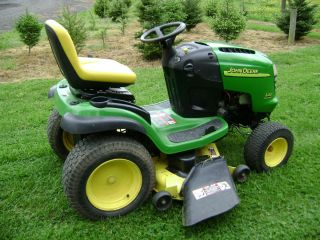 L120 48 cut Farm Garden Tractor 20HP Riding Lawn Mower Auto Hydro
