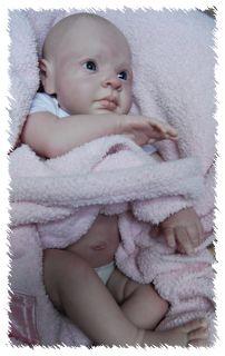 Libby OOAK Doll Lifelike Fake Art Artist Baby Cindy Musgrove