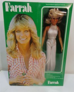 Vintage Mego Farrah Fawcett Doll 1977 NRFB Sealed MISB