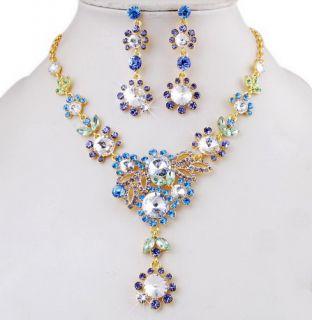 Fashion Alloy Rhinestone Statement Imitate Pearl Choker Necklace
