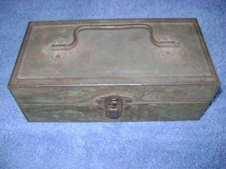 Antique Falls City Tackle Box