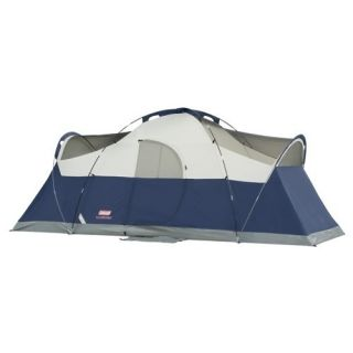Coleman Blue Springs 8 Person 17 x 9 Camping Family Tent