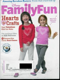 Disney Family Fun Magazine February 2012