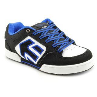 Etnies Kids Charter Youth Kids Boys Size 3 Black Leather Skate Shoes