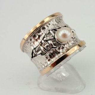 1339685218 hadar ring etsy collection silver gold pearl