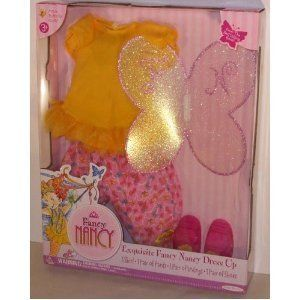 Butterfly Outfit for Fabulous Fancy Nancy Doll New Shoes Clothing Doll