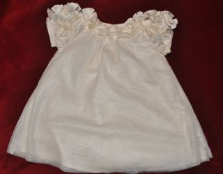 Baby Gap girl cream off white tulle HOLIDAY fancy Christmas gorgeous