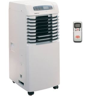 Slim Portable Air Conditioner Small Room AC Dehumidifier Fan w Window