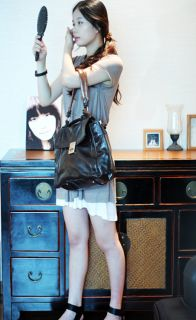 Bag Satchel Black Brown Comfort Vogue Cross Lady Handbag CLH