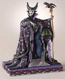 Sleeping Beauty Maleficent with Dragon Evil Enchantment Jim Shore NIB