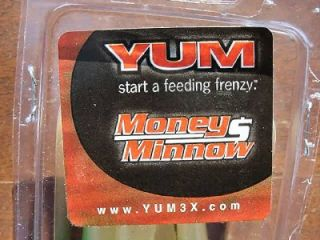 NIP Yum 4 pack 5 Money Minnows YMM5918 AYU Lures