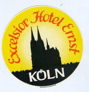 Koln Hotel Excelsior Ernst