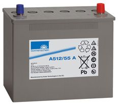 Exide Sonnenschein Battery A512 55 12 Volt 55 Ah Deep cycle gel