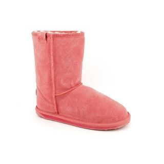 Emu Australia Wallaby Lo Youth Kids Girls Size 2 Pink Regular Suede