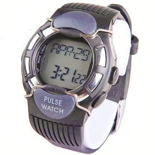 PULSE UNISEX WATCH Fitness Exercise Calorie Counter Heart Rate Monitor