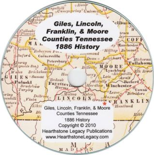 Lincoln County Tennessee History Genealogy Fayetteville