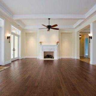 Hand Scraped Engineered Hardwood Flooring Wood Floor
