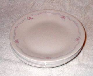 Corelle English Breakfast Bread and Butter Plates 6