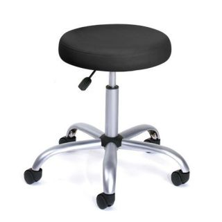 New Black Doctor Dental Medical Exam Office Stool Chair