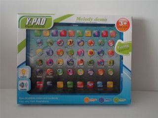 NEW Children Y Pad English Learning Computer Math Alphabet Spell 3 NIB