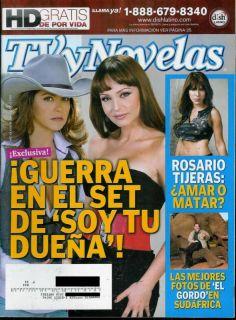 NOVELAS MAGAZINE AUGUST 2 2010 LUCERO GABY SPANIC MARIA FERNANDA YEPEZ