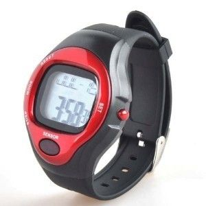 Fitness Blood Pressure Pulse Heart Rate Monitor Calorie Counter Sports