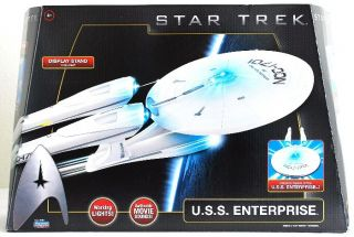 Star Trek USS Enterprise NCC 1701 Playmates Electronic Lights Movie