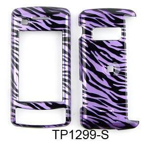 LG enV Touch VX11000 Purple Zebra Hard Case Cover New