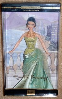 New 2002 Exotic Beauty Barbie Doll Style Set Collection