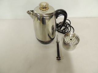 FABERWARE Super Fast Fully Auto 8 Cup Electric Stainless Coffee Maker