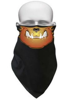 Bulldog Skull Face Mask Bandana Biker MX Ski Snowboard