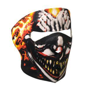 Motorcycle Biker Skiers Neoprene Face Mask Smoking Clown