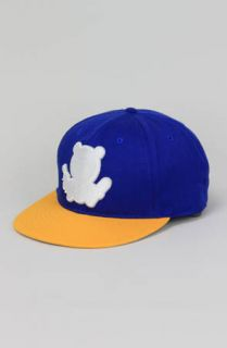 Entree Entree LS Teddy Silhouette Blue Yellow Snapback