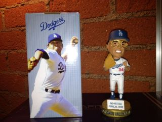 Fernando Valenzuela Bobblehead Los Angeles Dodgers Baseball Legend