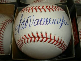 Fernando Valenzuela Autographed Signed Baseball Dodgers
