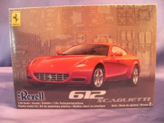 REVELL FERRARI 612 PLASTIC MODEL CAR KIT