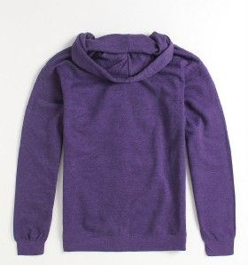 DC Shoes Fielder Mens Purple Zip Hoodie Sweatshirt Jacket New NWT