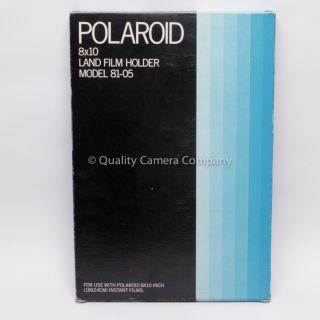 Polaroid 8x10 Land Film Holder Model 81 05 New Old Stock