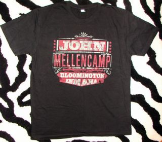 Mellencamp No Better Than This Tour Shirt XXL 2XL Tour Laminate